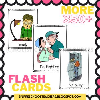 Classroom Commands Flashcards