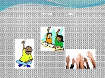 Classroom Commands Realidades A