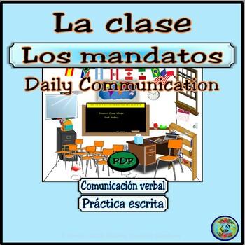 Classroom Commands for Daily Communication #2  / Mandatos e interacciones