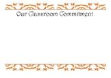 Classroom Commitment
