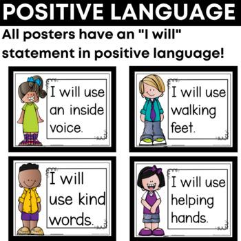 Classroom Commitment Posters {Conscious Discipline}