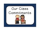 Classroom Commitments