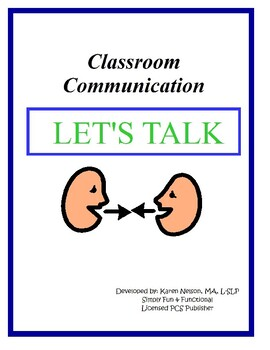 Classroom Communication Let's Talk
