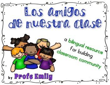 Classroom Community Bilingual Book