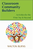 Classroom Community Builders: Activities for the First Day