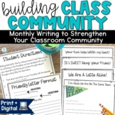 Classroom Community Building Activity