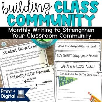 Classroom Community Building Activity