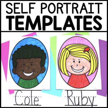 Classroom Community Building Self Portrait Templates By Must Love