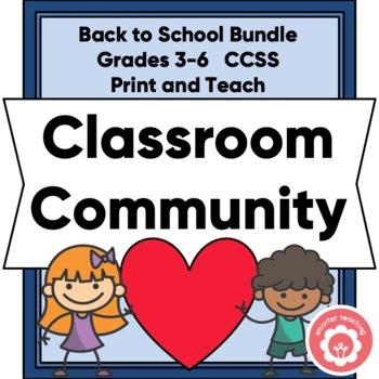 Growing Classroom Community Bundle: Grades 3-6