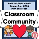 Growing Classroom CommUNITY Bundle For Grades 3-6