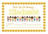 Classroom Community Certificate - Kindness