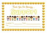 Classroom Community Certificate - Support