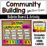 Community Building Acitivities Using ACTION Words - THIS IS US!
