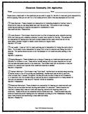 Classroom Community Job Application