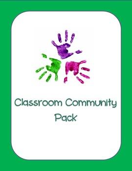 Classroom Community Jobs Pack