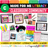 Classroom Community: Activities for First Day/ Week of Sch