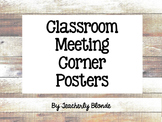 Classroom Community Meeting Posters