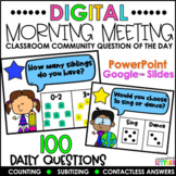 Classroom Community Question of the Day   Distance Learning