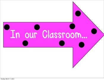 Classroom Community Signs