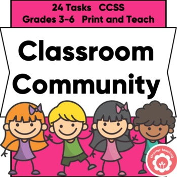 Building Classroom CommUNITY Task Cards