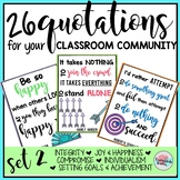 Classroom Community Themed Posters Set 2