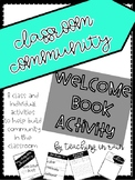 Classroom Community Welcome Book