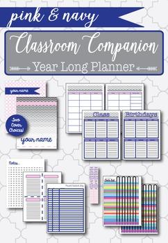 Classroom Companion -- Year Long Planner