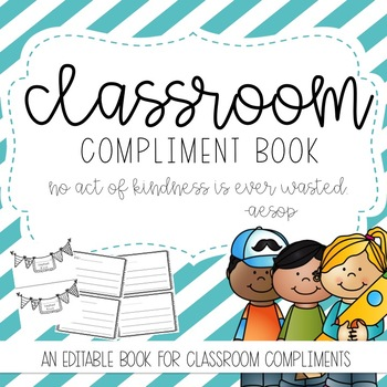 Classroom Compliment Book