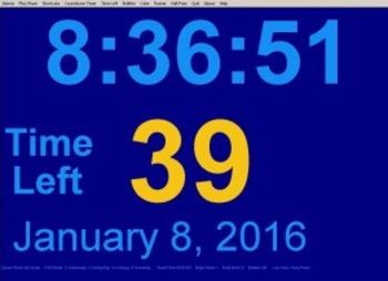 Classroom Computer Clock