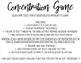 Classroom Concentration Game