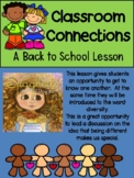 Classroom Connections: A Back to School Diversity Lesson