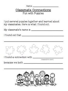 Build A Positive Classroom Climate with Student Puzzles