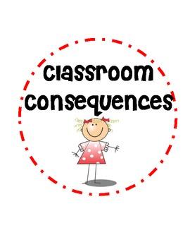 Classroom Consequences / Polka Dot