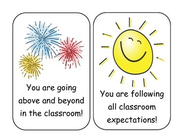 Classroom Consequences Posters