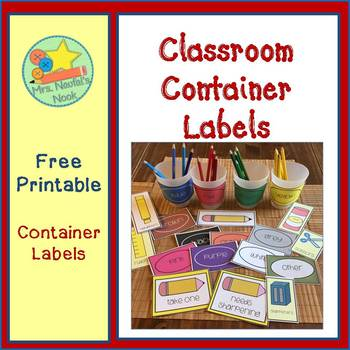 photo relating to Free Printable Classroom Labels With Pictures named Clroom Labels Cost-free