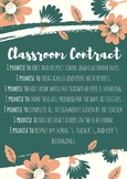 Classroom Contract - Uneditable