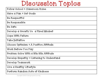 Classroom Conversations: 15 Life Skills Mini-Lessons