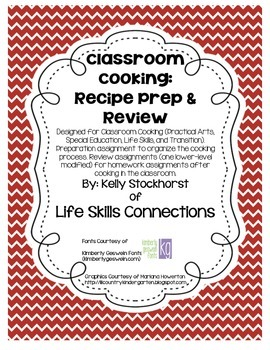 Classroom Cooking: Prep & Review