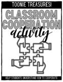 Classroom Cooperation Activity