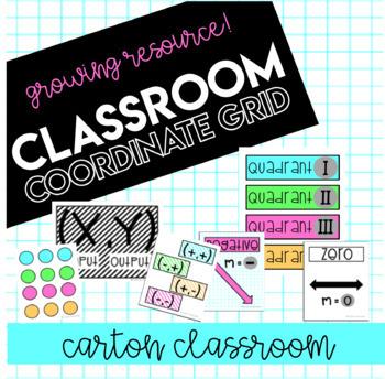 Classroom Coordinate Grid *08/23 Update*