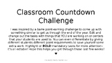 Classroom Countdown Challenge