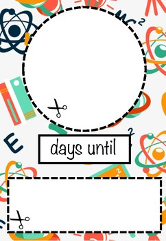 Classroom Countdown Graphic!