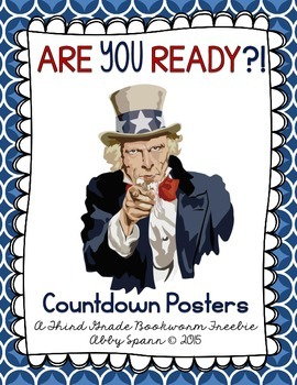Classroom Countdown Posters