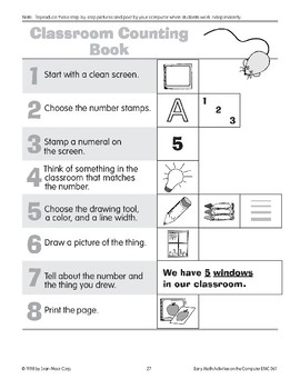 Classroom Counting Book
