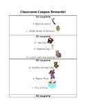 Classroom Coupon Reward System