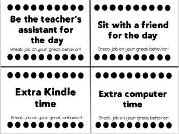 Classroom Coupon Rewards