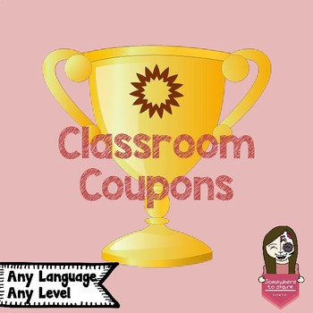 Classroom Coupons!