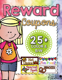 Classroom Reward Coupons!