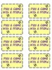 Classroom Coupons (18 + blank set)