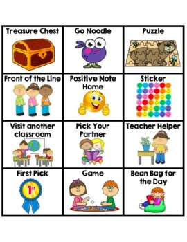 Classroom Coupons - Behavior Reward (With Pictures)
